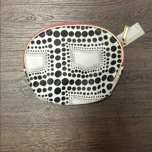 Kenneth Cole Reaction  polka dot make up bag new